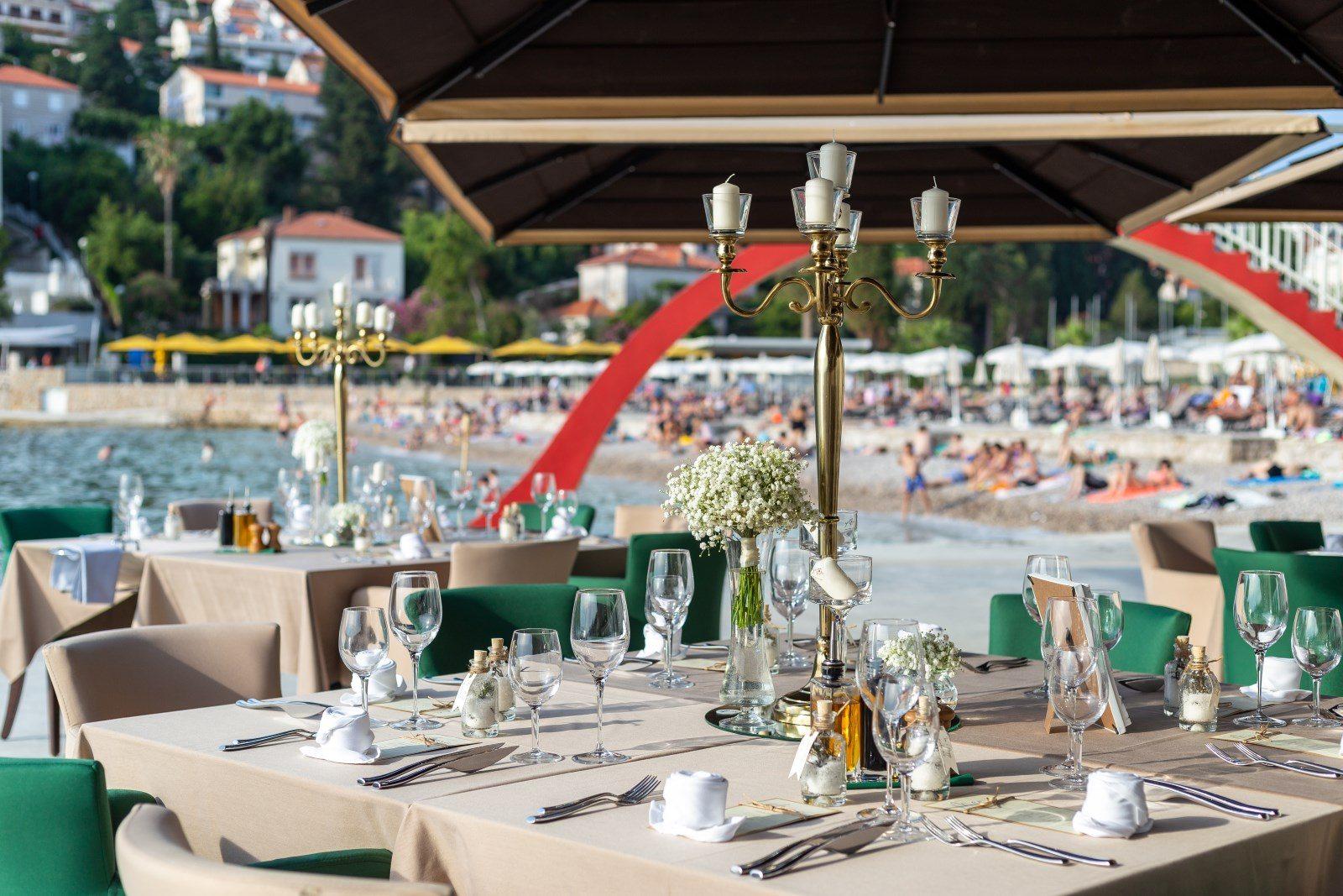 wedding beach dubrovnik