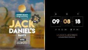 Sunset Beach Dubrovnik Jack Daniels Party