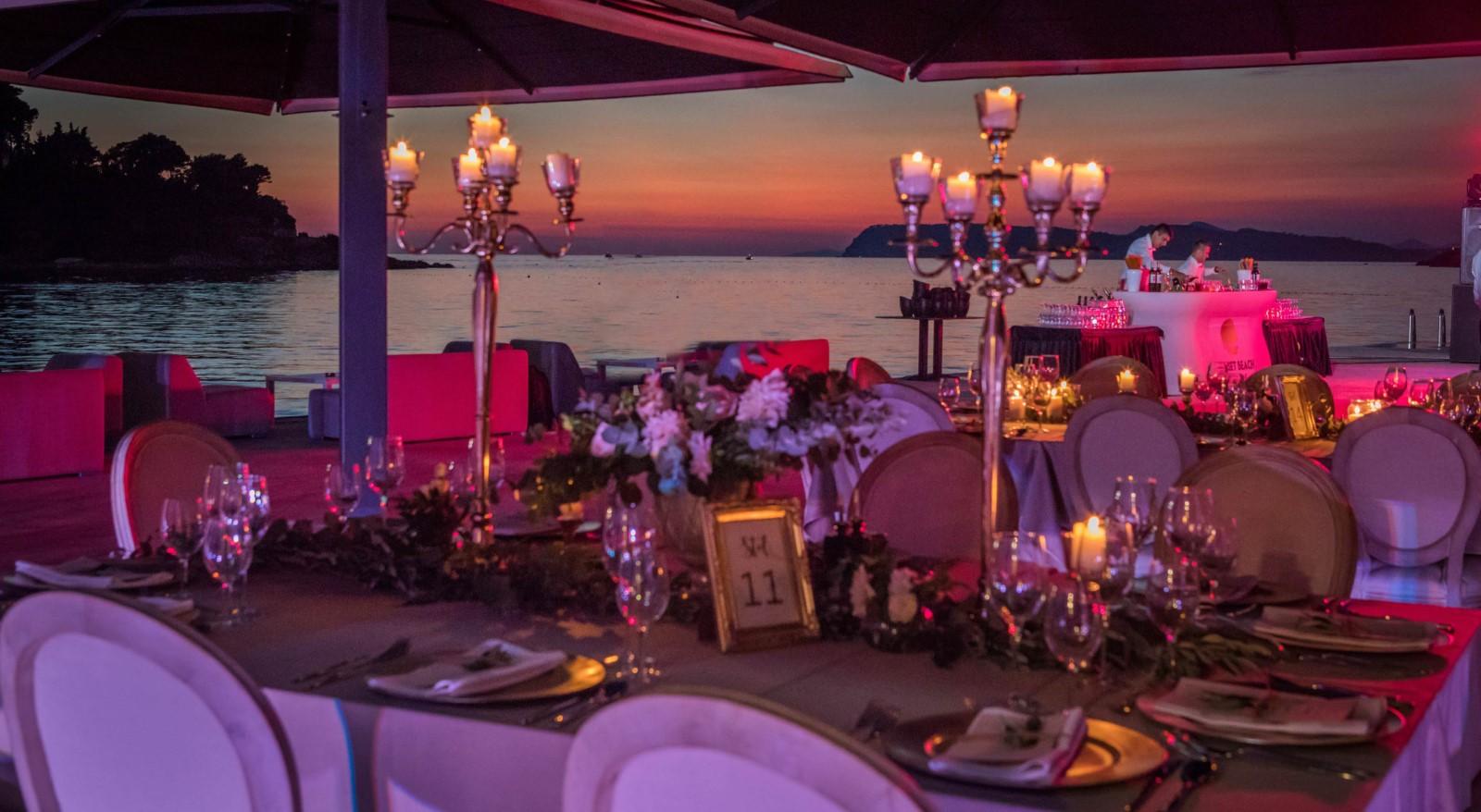 sunset beach dubrovnik romantic sunset dinner