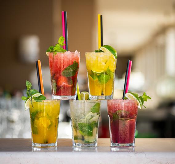 refreshing cocktails at sunset dubrovnik