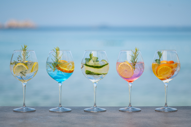 sunset beach dubrovnik cocktails